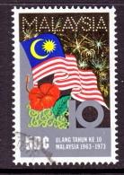 Malaysia  105  (o)  FLAG - Malaysia (1964-...)
