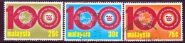 Malaysia  120-22   (o) - Malaysia (1964-...)