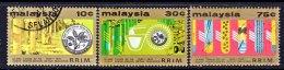 Malaysia  135-7   (o)  SCIENCE  RUBBER  TREES - Malaysia (1964-...)
