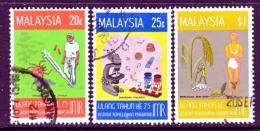 Malaysia  138-40   (o)  MEDICINE - Malaysia (1964-...)
