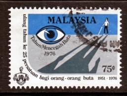 Malaysia  151   (o)  EYE  HANDICAP  BLIND - Malaysia (1964-...)