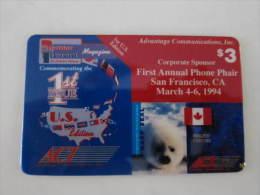 ACI Prepaid Phonecard,the 1st Annual Phone Phair,1994,mint - Vereinigte Staaten