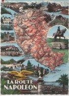 France CP La Route Napoleon Obliteration Flier  Castellane Basses Alpes 1962 - Castellane