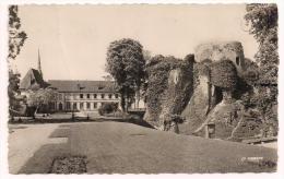 27 - CONCHES - Le Vieux Donjon (XIe) Et L´Hôtel De Ville - Ed. La Cigogne N° 27.165.25 - Conches-en-Ouche