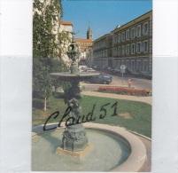 BOURBONNE Les BAINS (52) La Fontaine Sur Caryatide,devant Les Thermes - Bourbonne Les Bains