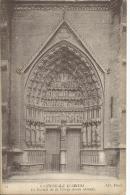 Cathedrale D'Amiens No 31 Le Portail De La Vierge Doree (detail)  ND Photo Imp. Phot. Neurdein Et Cie Paris - Amiens