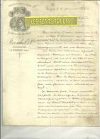18 - Cher - VIERZON - Facture BROUHOT - Constructions Mécaniques -  1887 - 1800 – 1899