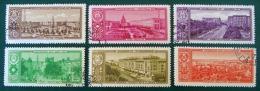 CAPITALES SOVIETIQUES 1958 - OBLITERES - YT 2130/35 - MI 2174/79 - 1923-1991 URSS