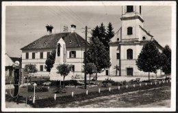 Österreich-Burgenland / Hungary: Jennersdorf (Gyanafalva / Ženavci), Kirchen Und Kriegsdenkmal 1931 - Jennersdorf
