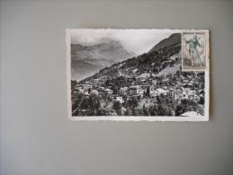 HAUTE SAVOIE SAINT GERVAIS LES BAINS VUE GENERALE ROCHERS DES FIZ - Saint-Gervais-les-Bains