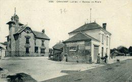 CPA 45 Cravant - Bureau De Poste - France