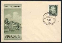 ALLEMAGNE - RDA - KAMENZ / 1954 ENVELOPPE FDC (ref 4543) - DDR