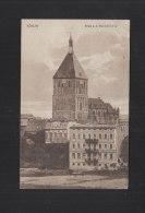 Polen Poland AK Köslin Koszalin Blick A.d. Marienkirche 1921 - Poland