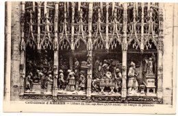 CP, 80, Cathédrale D'AMIENS, Clôture Du Transept Nord (XVIe S.) Le Temple De Jérusalem, Vierge - Amiens