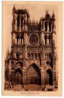 CP, 80, Cathédrale D´AMIENS (1220-1288), Façade Occidentale, Vierge - Amiens