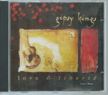 "CD  GIPSY KINGS -  "" LOVE & LIBERTE ""  -  13  TITRES - Other - English Music"