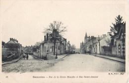SANCOINS RUE DE LA CROIX BLANCHE ET RUE SAINT-AMAND 18 CHER - Sancoins