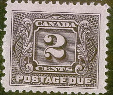 CANADA MI. 2X * - Port Dû (Taxe)