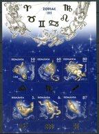 ROMANIA 2011** - Segni Zodiacali - 1 Block  MNH Come Da Scansione - Astrologie