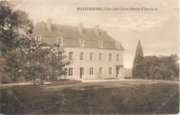MONTPENSIER PAR SAINT-MARTIN-D'AUXIGNY 18 CHER 1900 - Ohne Zuordnung