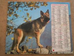 ALMANACH CALENDRIER POSTE FACTEUR 1986 VOSGES - Calendriers