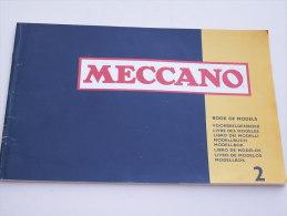 """""""""""  CATALOGUE  MECCANO  - LIVRE  DE  MODELES  -  LISTE  DE  PIECES - 26  PAGES  """""""""""