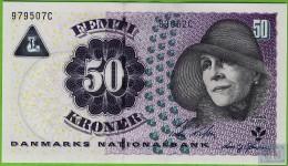Voyo DENMARK 50 Kronor (20)06 P60c  Prefix B UNC - Danemark