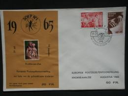 E92 Op Brief, Oplage 500 Ex., Genummerd - Sur Lettre, Tirage 500 Ex., Numéroté.. - Erinnofilia