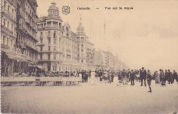 Ostende. - Vue  Sur La Digue.  Afgestempeld 1930 - Oostende