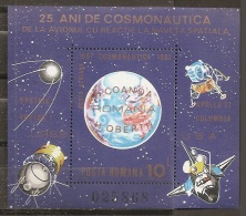 ESPACIO - RUMANÍA 1983 - Yvert #H148 - MNH ** - Espacio