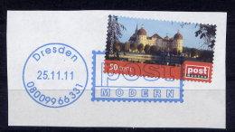 Privatpost Post Modern Nr.181         O  Used       (009) Schloß Moritzburg 50 Cent - [7] Federal Republic