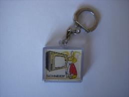 Porte Cles - Visiomatic - TELEVISION SCHNEIDER - Schneidy - - Key-rings