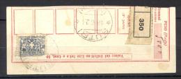 Italia Regno 1926 Assicurativo 1,50 Su Ricevuta Bollettino Sass.Ass9 Usato/Used F - Versichert