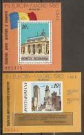 RUMANÍA 1980 - Yvert #H146/46a - MNH ** - 1948-.... Repúblicas