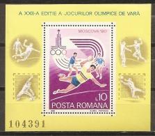 RUMANÍA 1980 - Yvert #H144 - MNH ** - Hojas Bloque