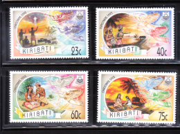Kiribati 1993 Christmas Shepherds Three Kings Holy Family MNH - Kiribati (1979-...)