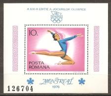 RUMANÍA 1976 - Yvert #H126 - MNH ** - Hojas Bloque