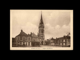 28 - AUNEAU - église - France