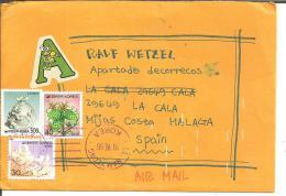 Ko-S025/  KOREA - Bedarfsbrief 1996 Nach Spanien - Korea (Süd-)