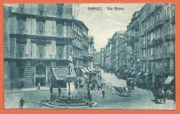 HB324, Napoli, Via Roma, Calèche, Animée, 15670, Non Circulée - Napoli (Naples)