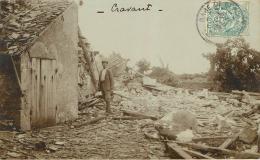Cravant : Carte Photo - France