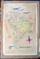 Affiche Compagnie Aérienne Panair Do Brasil / 1954 - Posters
