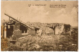 Houthulst Abris Dans Les Ruines (pk12223) - Houthulst