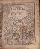 Almanach Valais Wallis 1817 ; Haus Kalender Zu Sitten+ 24 Seiten - Livres, BD, Revues