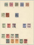 Lot Britisch Marokko gestempelt used / * ungebraucht