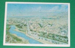 Carte Postale Vue Aérienne De Kaboul Afghanistan Années 70 - Afghanistan