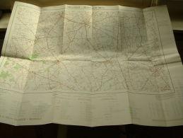 Belgie Topografische Kaart GELUVELD - MOORSELE 28/ 3-4  1/25.000 ! - Europe