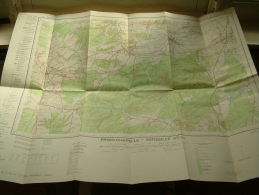 Belgie Topografische Kaart FROID-CHAPELLE - SENZEILLE 57/ 3-4  1/25.000 ! - Europe