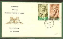 DF9551. NIGERIA, FDC. PRIX FIXE. - Nigeria (1961-...)