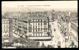 69 LYON 02 / Perspective De La Rue De La République / - Lyon
